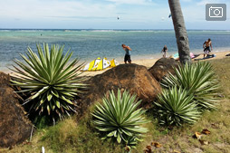 В гостях у Черри на пляже Виктория или про альтернативный кайт-спот на Куйо