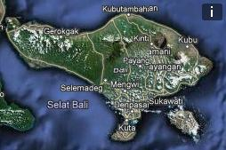 Gps карты Бали для Ozi Explorer