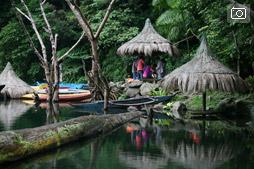 Озера-близнецы Балинсасаяо и Данао