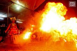 Ночь танцев дьявола в Бентоте