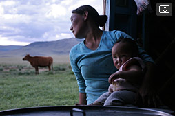 Улаангом и путь на запад Монголии