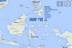 С Боракая до Бали по суше и морям
