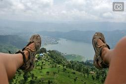 Как я изменяла кайту или Параглайдинг в Покхаре