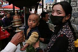 Поезд в Тибет, первый вечер в Лхасе