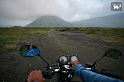 Видео с вулкана Бромо