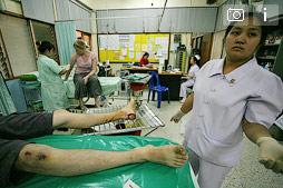 Приключения пятки в больницах Таиланда