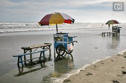 Пляж Парангтритис под Джокьякартой или индонезийский Париж