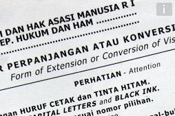 Как продлевать индонезийскую визу на Бали