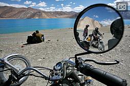 Озеро Пангонг, граница с Тибетом, Ладак