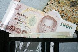Пример бюджета на двоих на первый месяц жизни в Таиланде