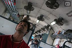 Знакомство с индийским поездом