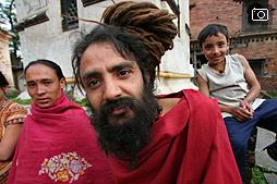 В гостях у бабЫ в Катманду