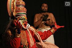 Катхакали, часть 2, представление