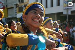 Парад на фестивале Бугласан