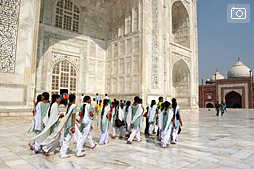 Тадж Махал и мусульманская свадьба